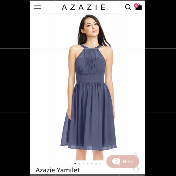 eb4efcb1958b65 Azazie Dresses & Skirts - AZAZIE Yamilet bridesmaid dress 12 altered for 10
